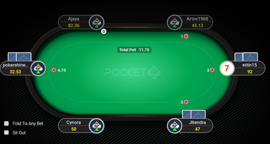Cash tables on Pocket52 are full of action!