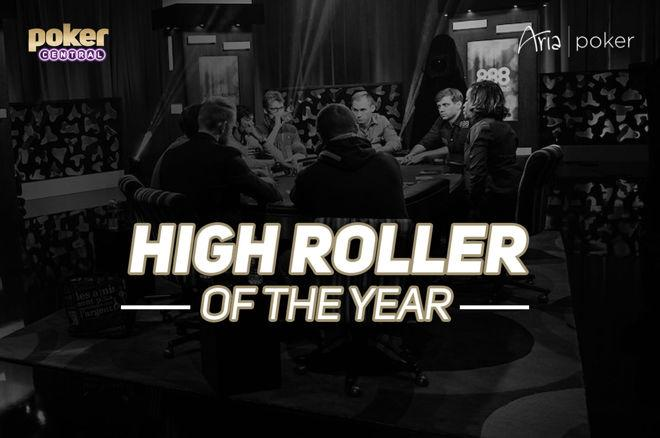 Poker Central & ARIA present High Roller of the Year Award