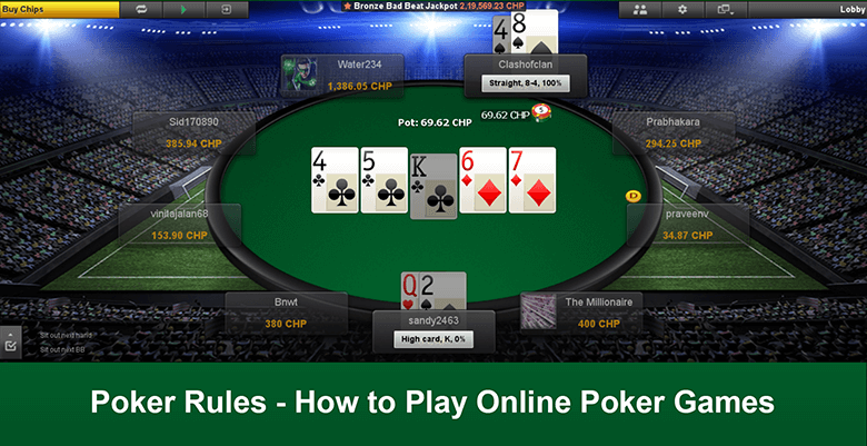 Poker Rules - How to Play Online Poker Games