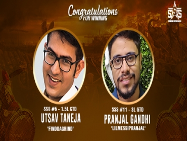 Pranjal Gandhi, Utsav Taneja bag titles on SSS Day 2