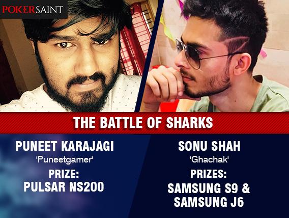 Puneet Karajagi, Sonu Shah win bikes, phones on PokerSaint