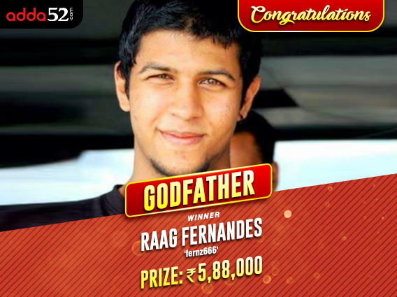 Raag Fernandes beats Nishant Sharma to secure Godfather win