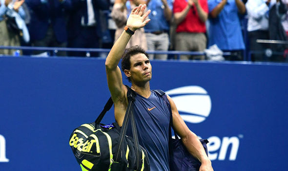 Rafael Nadal retires and exits 2018 US Open