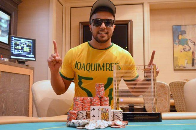Rafael Reis Wins Borgata Spring Poker Open Event #1