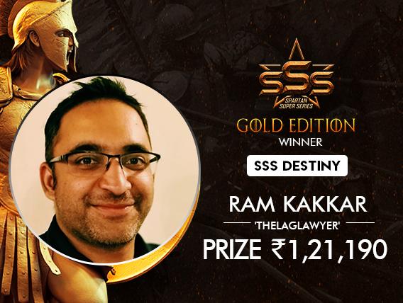 Ram Kakkar among 8 winners on SSS Gold Edition Day 1