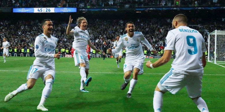 Real Madrid Book Place in UCL 2018 Final