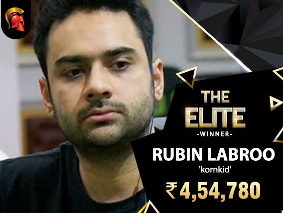 Rubin Labroo takes down Spartan Elite