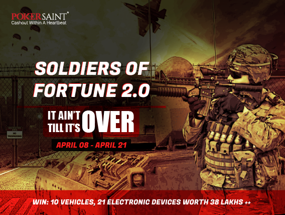 PokerSaint comes back with Soldiers of Fortune 2.0
