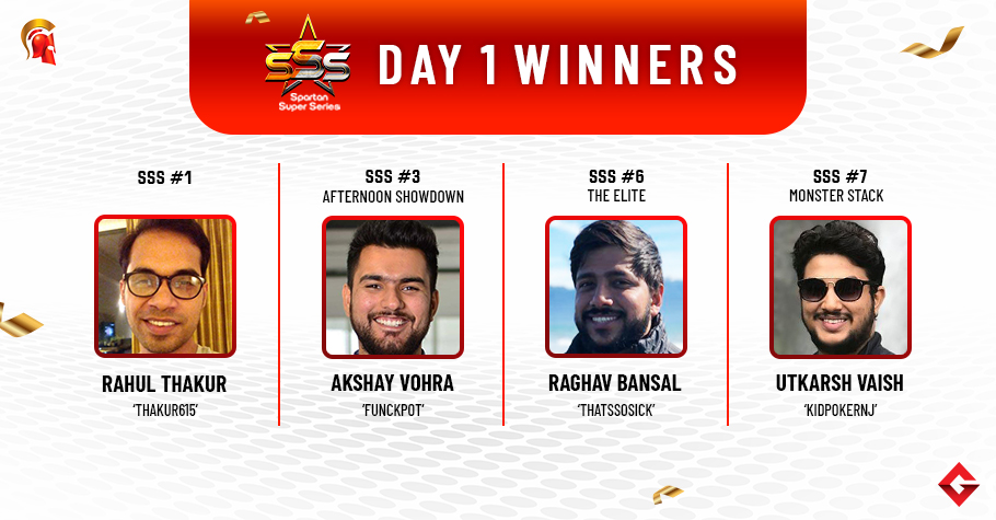 SSS Day 1: Thakur, Vohra, Bansal, Vaish begin their month well!