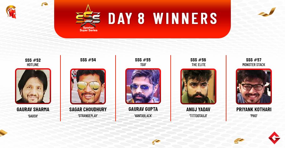 SSS Day 8: Anuj Yadav triumphs SSS The Elite!