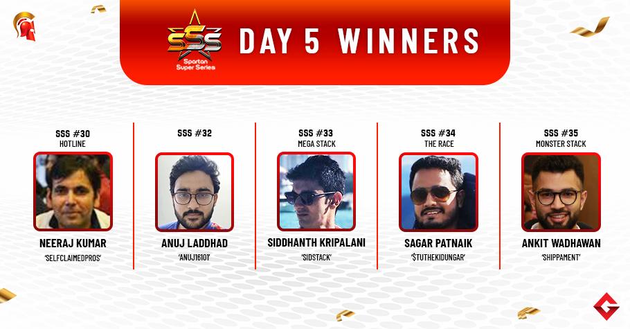 SSS Day 5: Sagar Patnaik wins Mega Stack title!