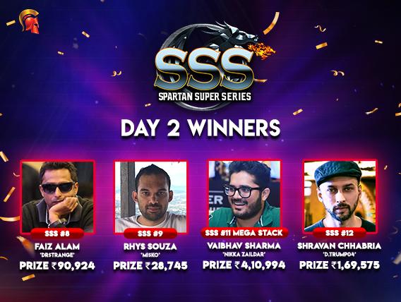 SSS Day 2 Alam, Souza, Sharma, Chhabria win titles