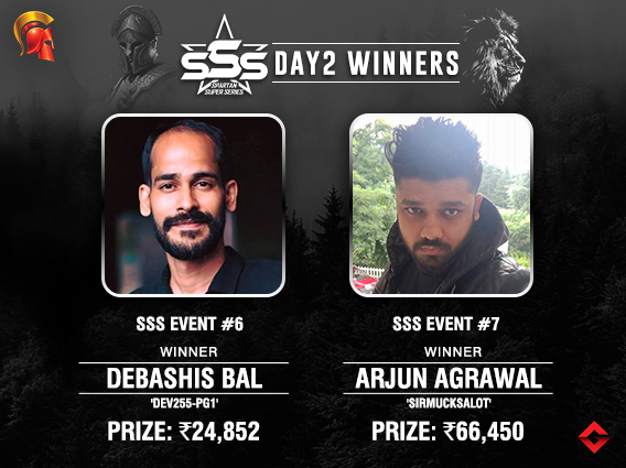 SSS Day 2 Debashis Bal, Arjun Agrawal among title winners