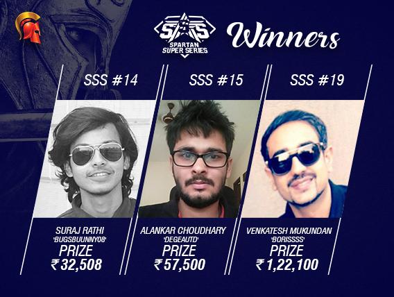 SSS Day 3: Rathi, Choudhary, Mukundan win titles