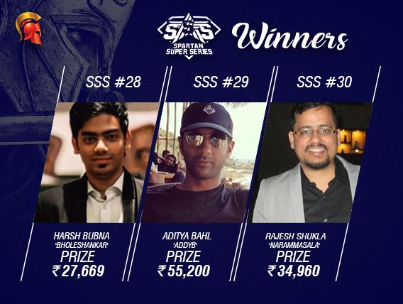 SSS Day 5: Bubna, Bahl, Shukla among winners