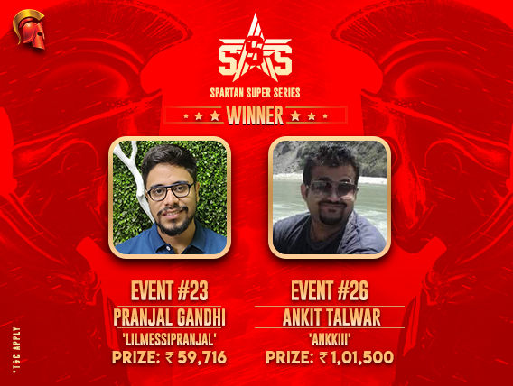 SSS Day 5: Pranjal Gandhi and Ankit Talwar among winners!
