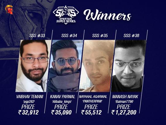 SSS Day 6: Nayak, Agarwal, Parwal, Temani among winners