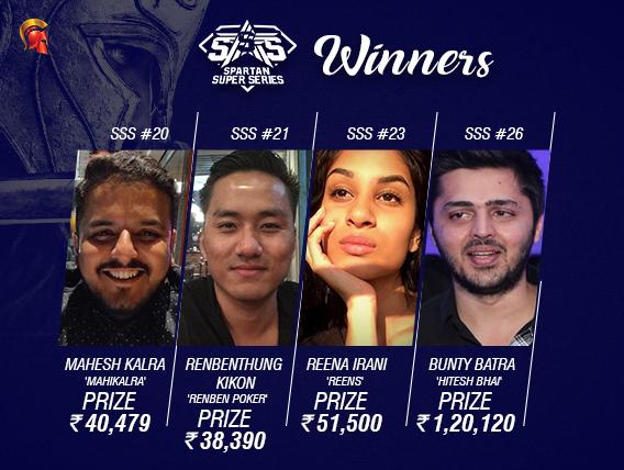 SSS winners