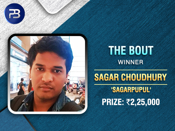 Sagar Choudhury ships PokerBaazi's Bout