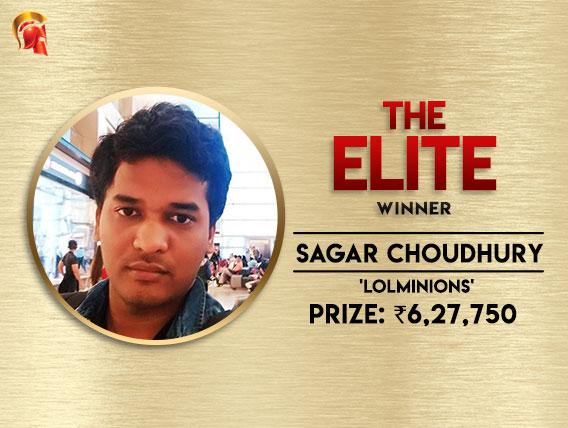 Sagar Choudhury wins Spartan Elite for 6.2+L
