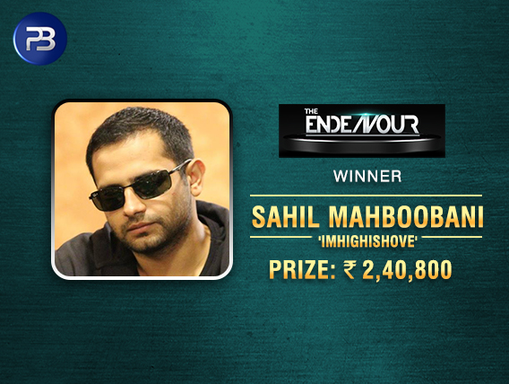 Sahil Mahboobani earns 3rd title this month – The Endeavour