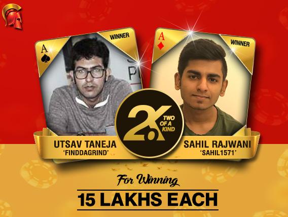 Sahil Rajwani and Utsav Taneja