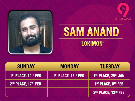 Sam Anand on the run of a lifetime on 9stacks