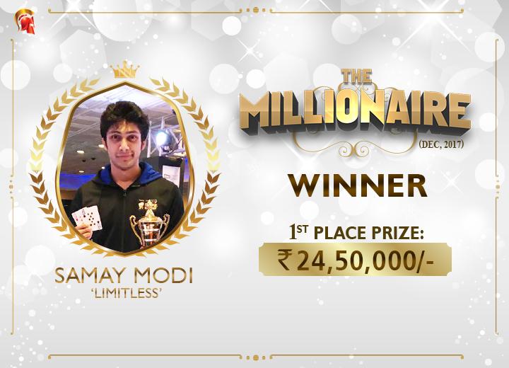 Samay Modi Millionaire Winner