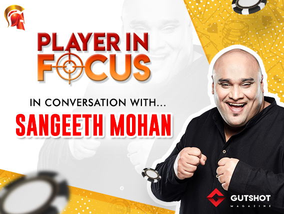 Sangeeth Mohan speaks about poker and life off the felts