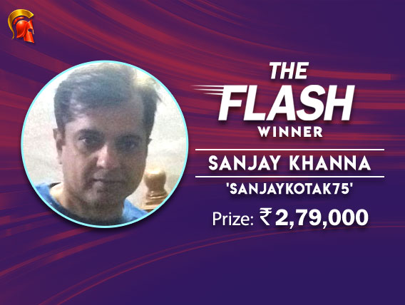 Sanjay Khanna beats Nadeem Basha to win Spartan Flash.jpg