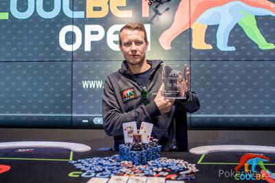 Sebastian Wahl wins the inaugural Coolbet Open