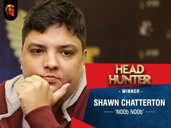 Shawn Chatterton wins last night's Head-Hunter on Spartan