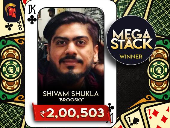 Shivam Shukla conquers Spartan Mega Stack