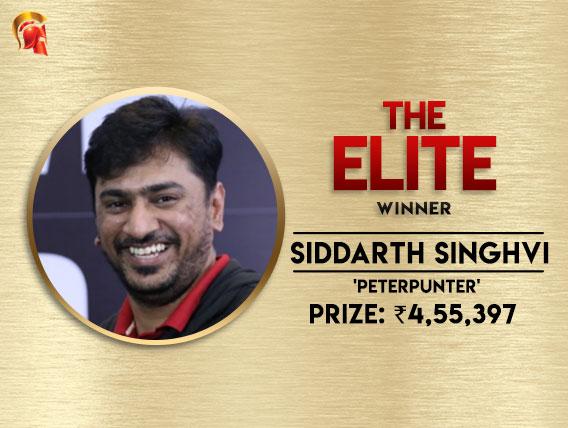 Siddarth Singhvi bags Elite title after HU deal