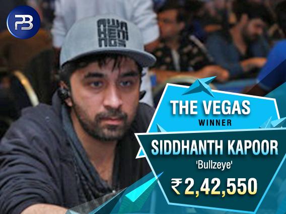 Siddhanth Kapoor claims PokerBaazi Vegas title