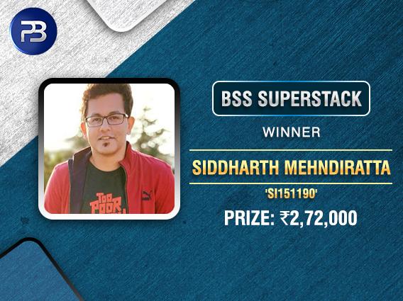 Siddharth Mehndiratta bags BSS SuperStack on PokerBaazi.jpg
