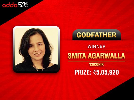 Smita Agarwalla bags Adda52 Godfather title