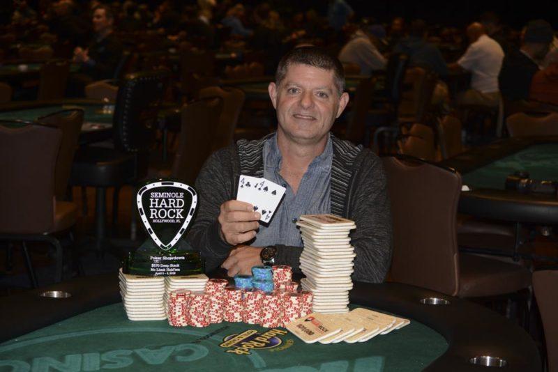 Steven Bennett wins at Seminole Hard Rock Poker Showdown