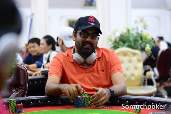 Sumit Sapra tops WPT Vietnam Main Event Day 1C