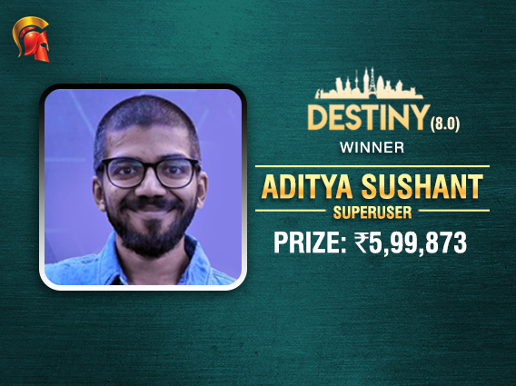 Sushant wins Spartan Destiny after HU deal with Mahboobani