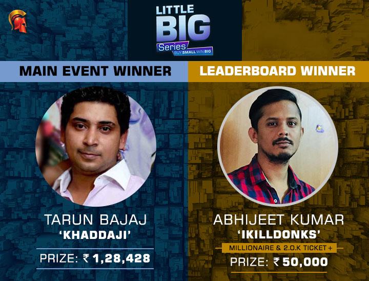 Tarun Bajaj wins LBS Main Event; Abhijeet Kumar tops leaderboard