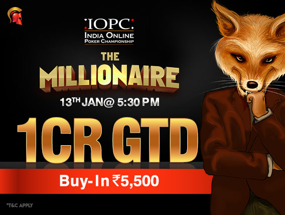 The Millionaire offers huge returns in upcoming IOPC