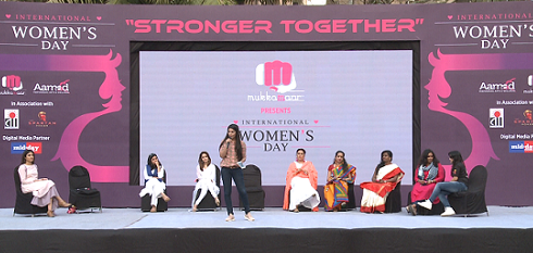 The Spartan Poker and MukkaMaar Celebrate Womens Day