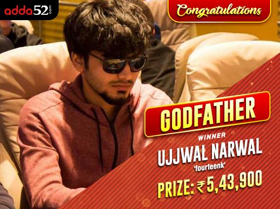 Ujjwal Narwal is Adda52s Godfather of the week