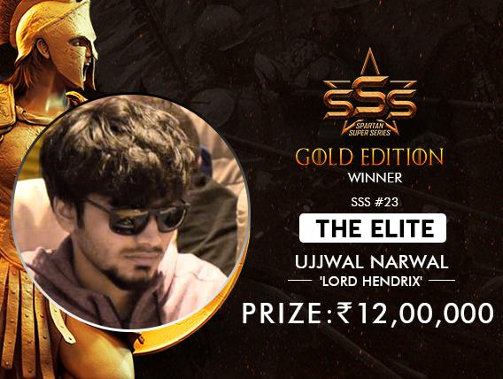 Ujjwal Narwal takes down SSS Elite, wins INR 12 Lakh!