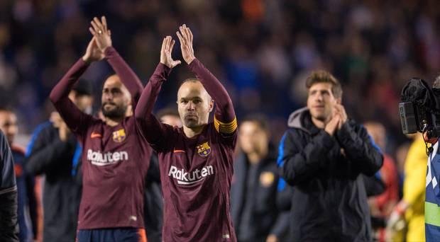 Unbeaten Barcelona Clinch 25th La Liga Title