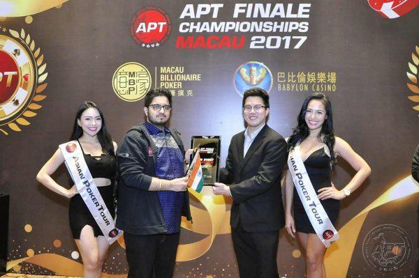 Varun Gupta APT Winner