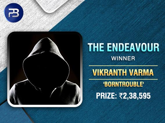 Vikranth Varma beats Labroo to bag PokerBaazi's Endeavour