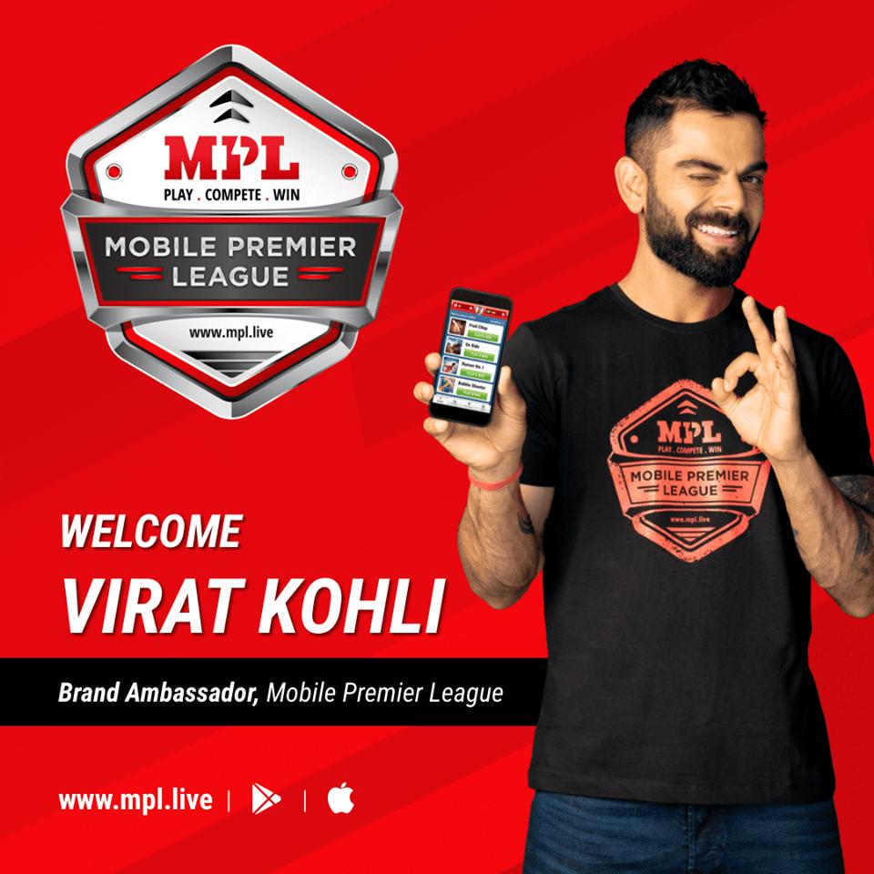 Virat Kohli now Mobile Premier League brand ambassador