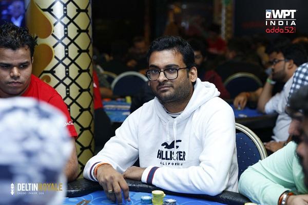 WPT India 2019 Deepak Bothra leads 29 in 25k Big Bounty